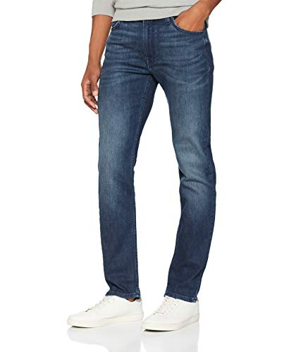 Lee Rider Jeans Slim Uomo Blu W34/L30