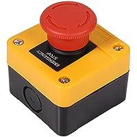 Interruptor de Boton de Presión Para Parada de Emergencia Seta Rojo Pulsador Interruptor de Botón Para Emergencia de Hogar 660V 10A