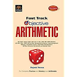 Arihant Fast Track Objective Arithmetic Paperback – 2016 with Free Car Anti Slip Mat