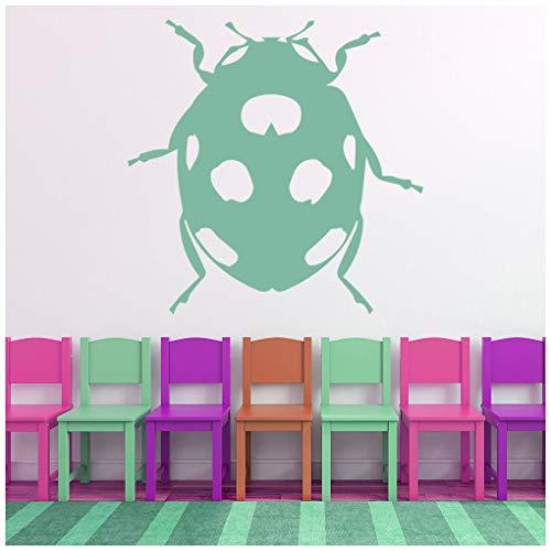 Wandtattoo Insekten Wand Sticker Mädchen Schlafzimmer Wohnkultur verfügbar in 5 Größen und 25 Farben Groß Weiß ()
