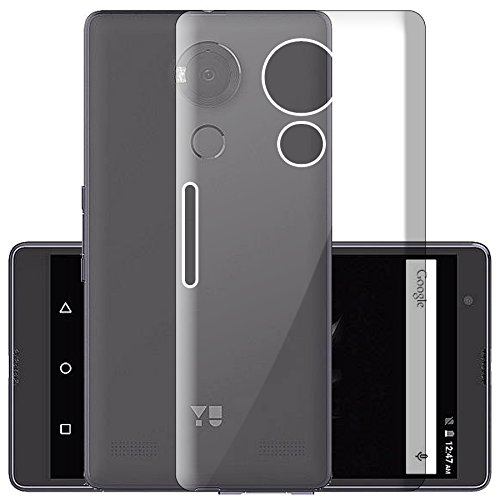 ECellStreet Exclusive Soft Transparent Back Case Cover Back Cover For Yu Yureka Note YU6000