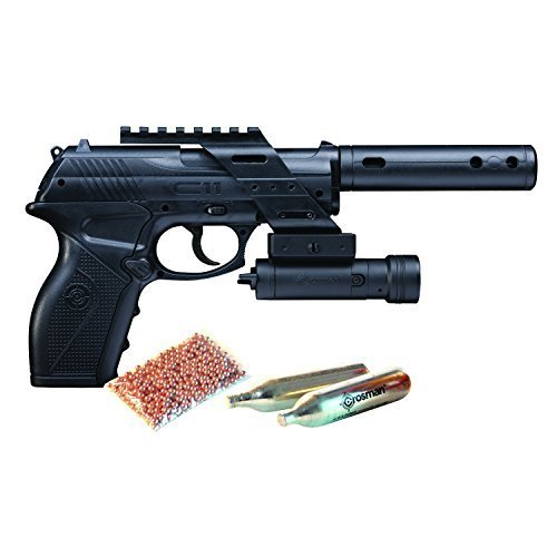 Crosman TACC11KT2 C11 Tactical Kit - C11 with Laser/BB's and CO2 by Crosman