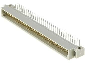 ZDIN-BM-64K Socket DIN 41612 type B male PIN64 a+b THT angled 90° NINIGI