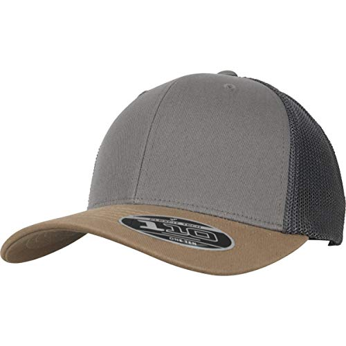 Flex Fit Trucker Cap (Flexfit 110 Trucker Kappe, Earth Tones, one Size)