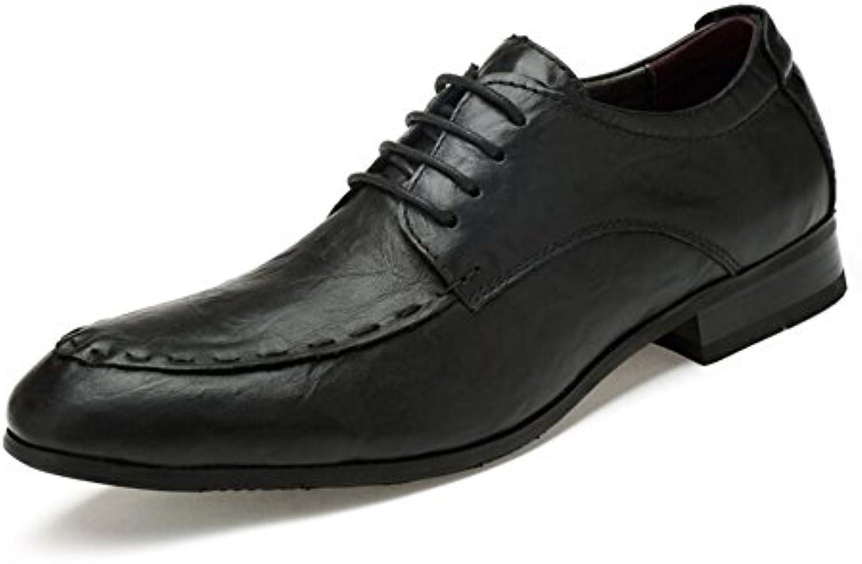 Zapatos de hombres 2018 Primavera / otoño Nuevos hombres Correas delanteras en punta Zapatos de hombre British...