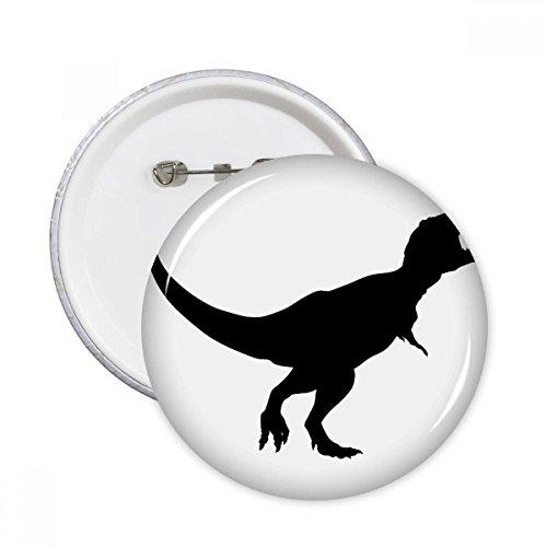 Bone Bekleidung (DIYthinker Dinosaur bones Knochen Runde Stifte Abzeichen-Knopf Kleidung Dekoration 5pcs Geschenk Mehrfarbig M)