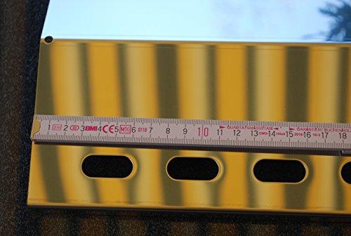 Landmann Gasgrill Flammenverteiler : 435mm x 200mm edelstahl flammenverteiler flammenabdeckung