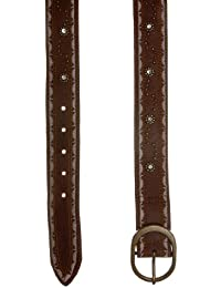 Pepe Jeans Covent AH 2012 ceinture en cuir Marron
