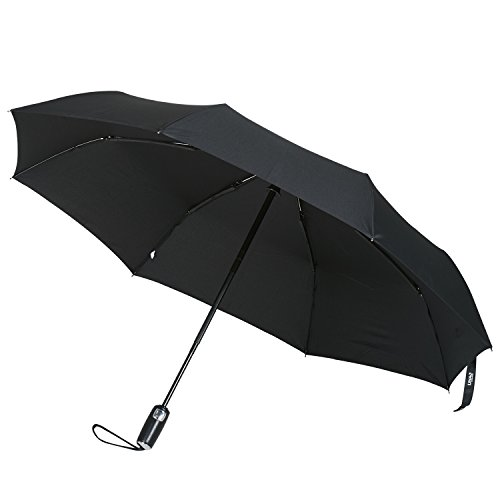 vente parapluie pliant automatique lihao parapluie de voyage pliable solide pour lhomme noir. Black Bedroom Furniture Sets. Home Design Ideas