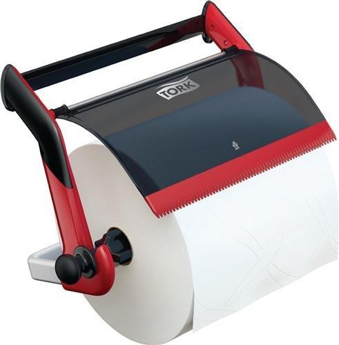 TORK Papierspender-Set, bestehend aus 1 Wandhalter 9000469175+4 Rll. Advanced (Workstation Schreibtische Einzelne)