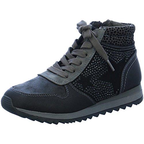 Jana Damen Sneaker Da.-Stiefel 25202-27 098 schwarz 172752
