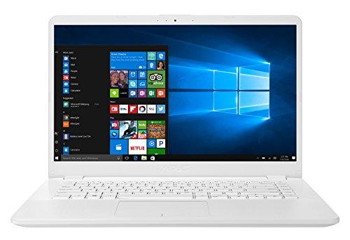 ASUS VivoBook 15 X505BP-BR014T - Ordenador portátil 15,6' HD (AMD Dual-Core A9-9420 APU, 8 GB RAM, 1 TB HDD, AMD Radeon R5 M420 de 2 GB, Windows 10 Original) Blanco Brillante - Teclado QWERTY Español
