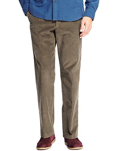 Smart Classic Cordhose LT (DE 52 Kurz [W36/L29], Olive) Cords Corduroy Pants