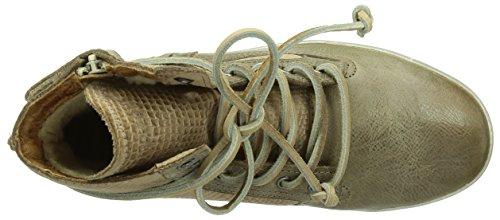 Blackstone IK03 GREY SHEEPSKIN Unisex-Kinder Chukka Boots Beige (Hazel)