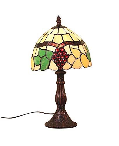 Graf von Gerlitzen Tiffany Stand Tisch Lampe Antik Style Tischlampe Tiffanylampe GN27-Anja (Antike Lampe Stand)