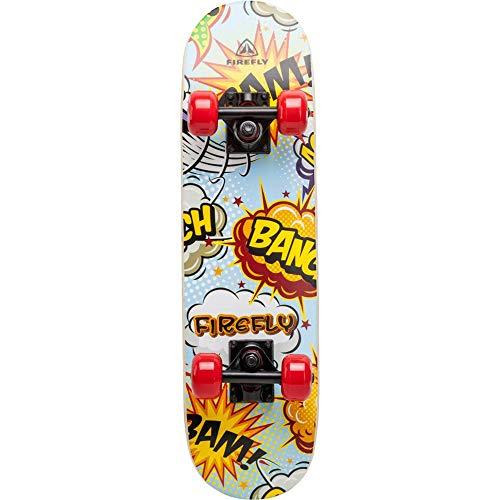 Firefly Skateboard-262224 Skateboard, Blau, One Size