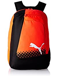 Puma Rucksack Evopower Football Backpack, red Blast/Puma Black/Puma White, 21.8 x 12.5 x 48 cm, 1.0 litros, 073883 05