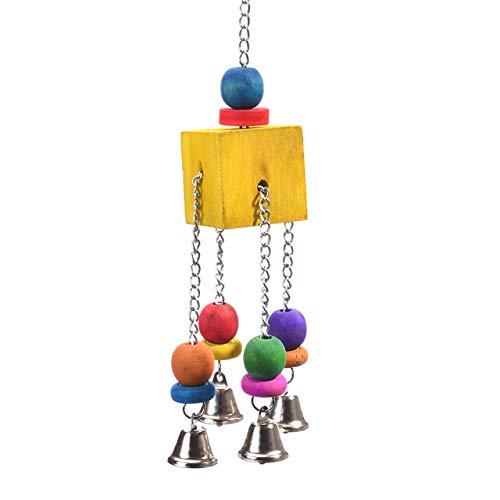 HappyBird ®   Big Block Bell Fun   Großsittich   Papageien   Spielzeug   Knabberspaß