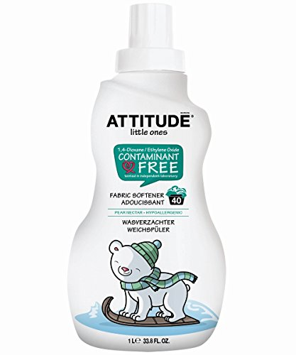 attitude-little-ones-40-load-pear-fabric-softener-1-litre-pack-of-6