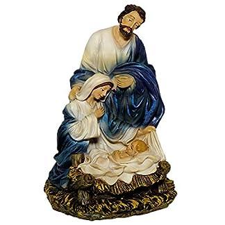 Kaltner Präsente – Figura Decorativa (15 cm, Pintada a Mano), diseño de la Virgen María José con Jesús