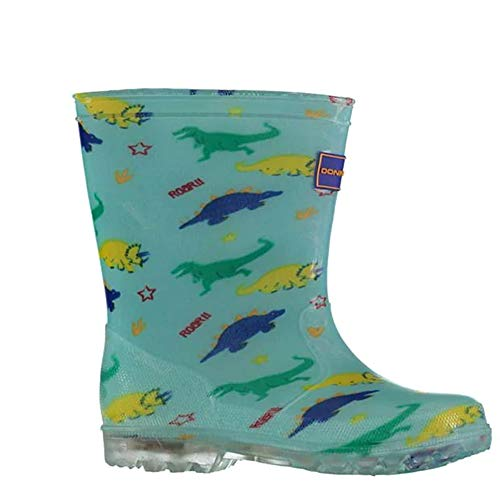 Donnay Childrens All Over Print Light Up Wellies