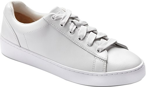 VIONIC Womens Splendid Syra Leather Trainers White