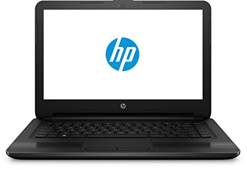 HP HP (14-ac116ng) 35,6 cm (14 Zoll HD) Notebook (Intel Celeron N3050, 32 GB eMMC, 2 GB RAM, Intel HD Graphics, Windows 10), schwarz