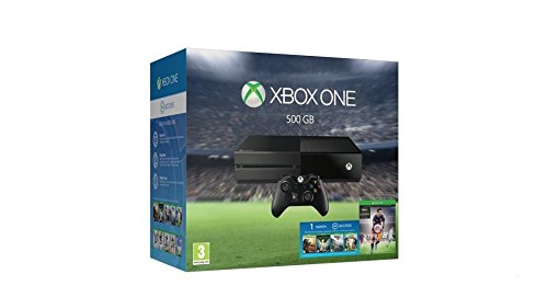 Microsoft Xbox One - FIFA 16 Bundle - Game console - 500 GB HDD - black