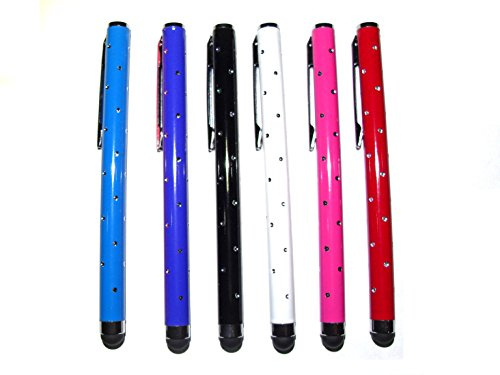 c63r-6-pack-high-quality-purple-blue-black-white-pink-and-red-luxury-stylus-pen-set-with-beautiful-r
