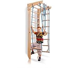 """Escalera sueca barras de pared """"Kinder-2-220"""", gimnasia de los niños en casa, complejo deportivo de gimnasia"""