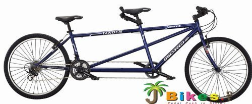 "J Bikes by Micargi Sport, Blue - 26"" 21-Speed 2-Seater for sale  Delivered anywhere in UK"