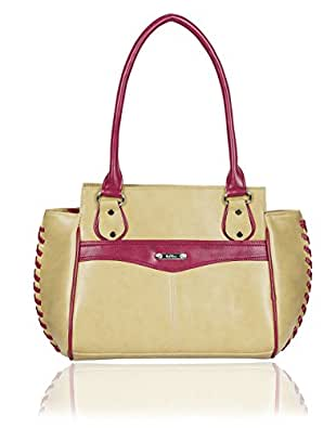 Right Choice ,Yellow decorous,beautiful handbags for women's with the dimensions of (30x27x13cm).
