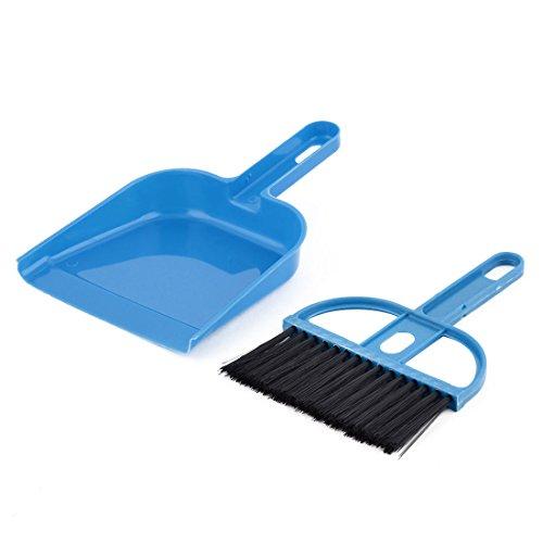 computadora-de-la-pc-teclados-ventana-plastico-azul-cepillo-de-limpieza-conjunto-recogedor