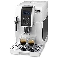 DeLonghi Dinamica ECAM 350.35.w autonome entièrement automatique Machine Espresso 1.8L Blanc–Cafetière (autonome, Machine à Espresso, blanc, tasse, LCD, 1,8l)