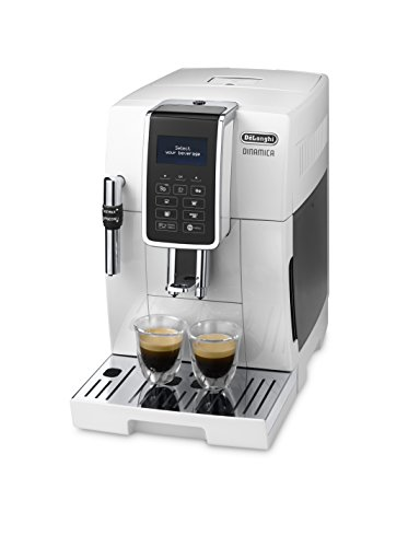 NO.1 COFFEE & TEA PRODUCTS DE'LONGHI DINAMICA ECAM 350.35.W BEAN TO CUP, WHITE BEST BUY REVIEWS UK