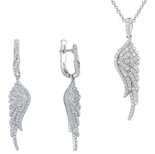saysure-jewelry-sets-white-cubic-zirconia-angel-wing-jewelry