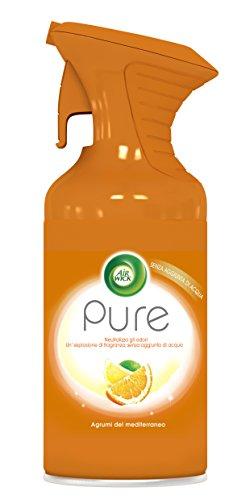 Air Wick Pure Spray, Agrumi del Mediterraneo, 250 ml