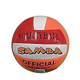 Aqua Pallone da Beach Volley Samba, Pallone da beachvolley Soft Touch Completo di ago per gonfiaggio, Pallone da pallavolo Spiaggia Mare Misura 20cm Diametro, Palla da Beach Volley Multicolor con ago