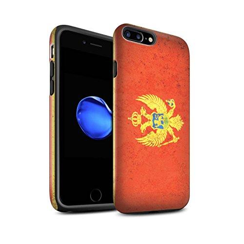 Coque Matte Robuste Antichoc de STUFF4 / Coque pour Apple iPhone 6 / Danemark/Danois Design / Drapeau Europe Collection Monténégro/Monténégrin
