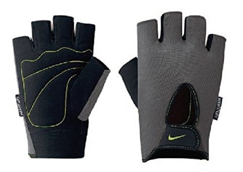 Nike Herren 9092/7 Mens Fundamental Training Gloves Trainingshandschuhe, Dark Grey/Black/Volt, M