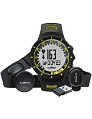 Suunto SS019155000 Montre/cardiofréquencemètre Quest Running Pack Jaune