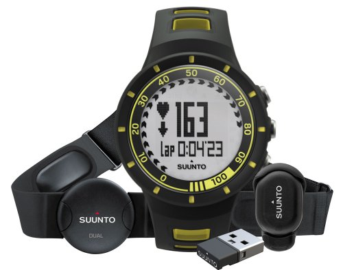 suunto-quest-yellow-running-pack-sport-watches-black-yellow-water-resistant-ant-running-german-dutch