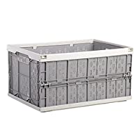 Multifunction Car Folding Fruit Basket Home Portable Storage Box Drainage Basket (Grey with White)