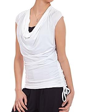Laeticia Dreams - Camisas - Túnica - Sin mangas - para mujer Weiß 40