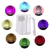 WC luz nocturna LED con sensor de movimiente iluminación nocturna para niños...