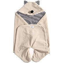 Mantas de bebe - SODIAL(R) Manta arrullo de invierno para bebe, Perfecta compatible la sillas de coche,para cochecitos de ninos , Sillas de paseo o