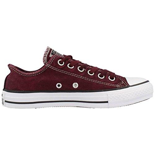 Converse Chuck Taylor All Star Adulte Seasonal Ox 15762 Damen Sneaker Rot (Bordeaux)
