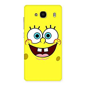 Spong Yellow Back Case Cover for Redmi 2