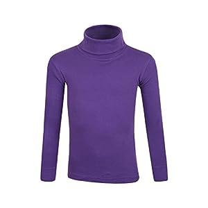 Mountain Warehouse Meribel Kinderrolli – Thermo-Rollkragen-Pullover für Jungen und Mädchen, Shirt aus 100% Baumwolle…