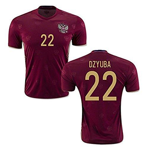 20162017Russland 22Artjom Sergejewitsch dsjuba Home Football Jersey in Rot Medium rot